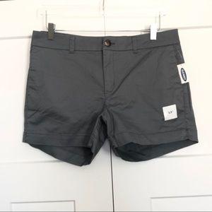 NEW   Old Navy Everyday Gray Khaki Shorts